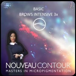 BASIC - BROWS INTENSIVE 3x